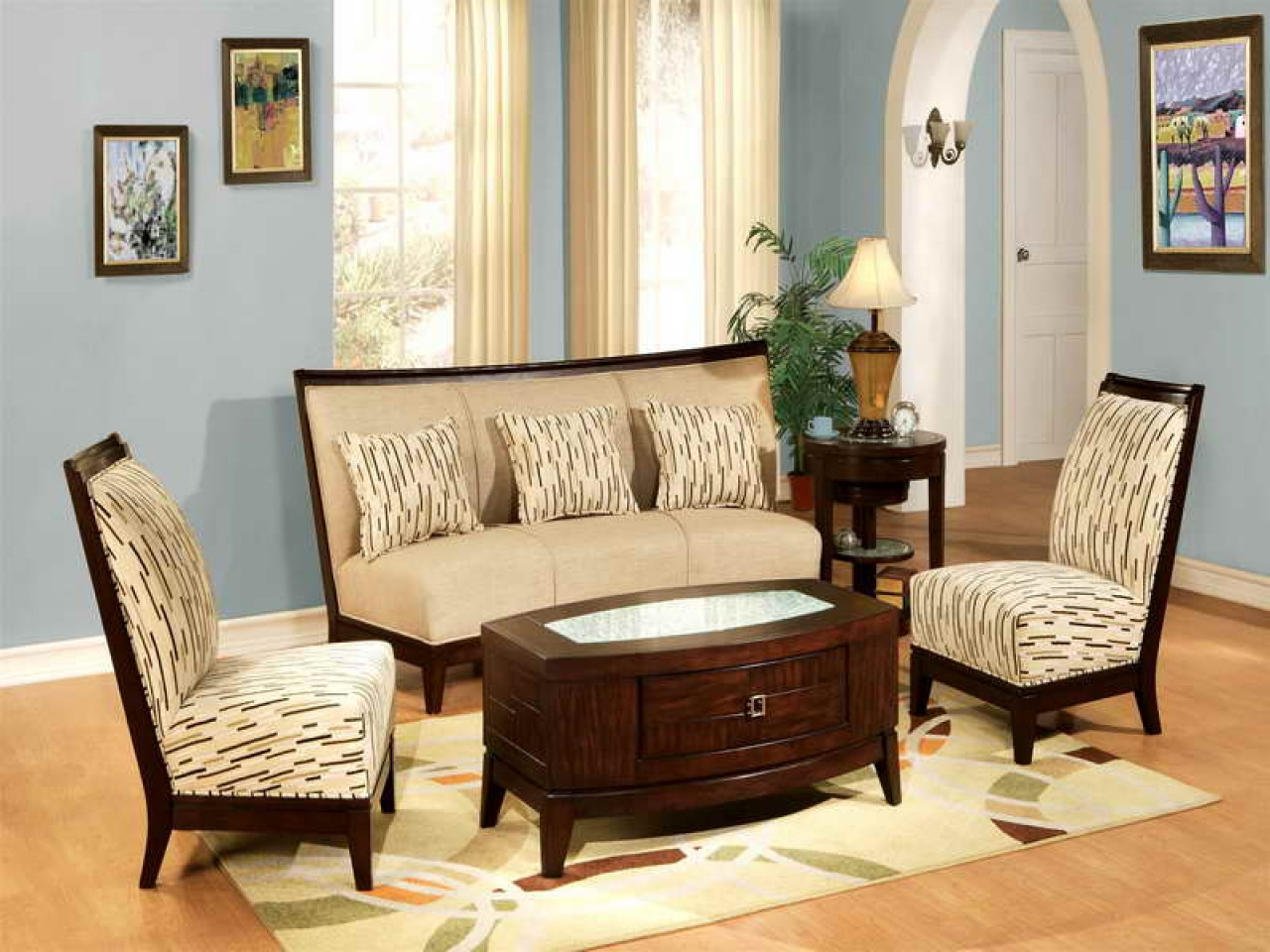 Best ideas about Furniture Ideas For Living Room . Save or Pin Living room ideas cheap affordable living room furniture Now.