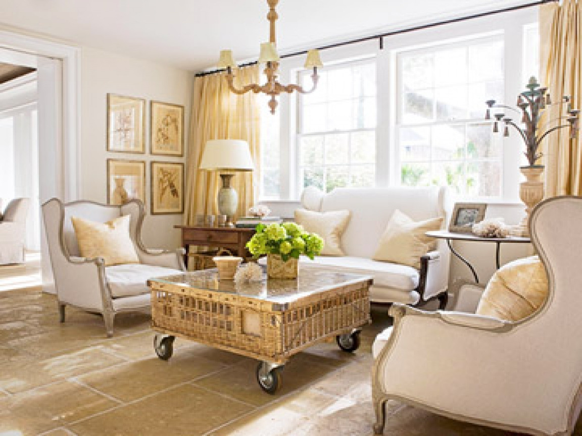 Best ideas about Furniture Ideas For Living Room . Save or Pin Bhg bedding country living room furniture ideas country Now.