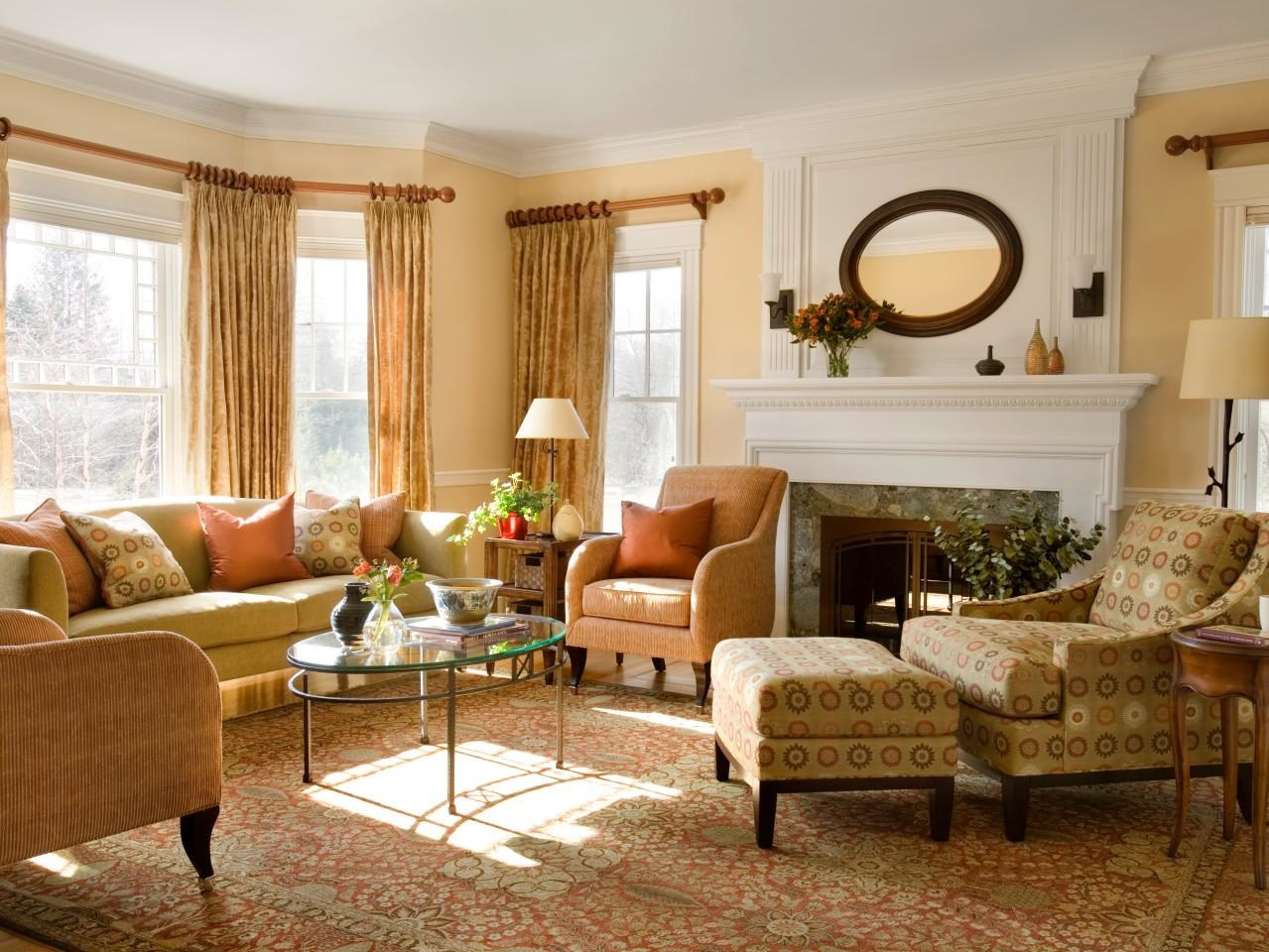 Best ideas about Furniture Ideas For Living Room . Save or Pin How To Place Furniture A Rug Interior Design Now.