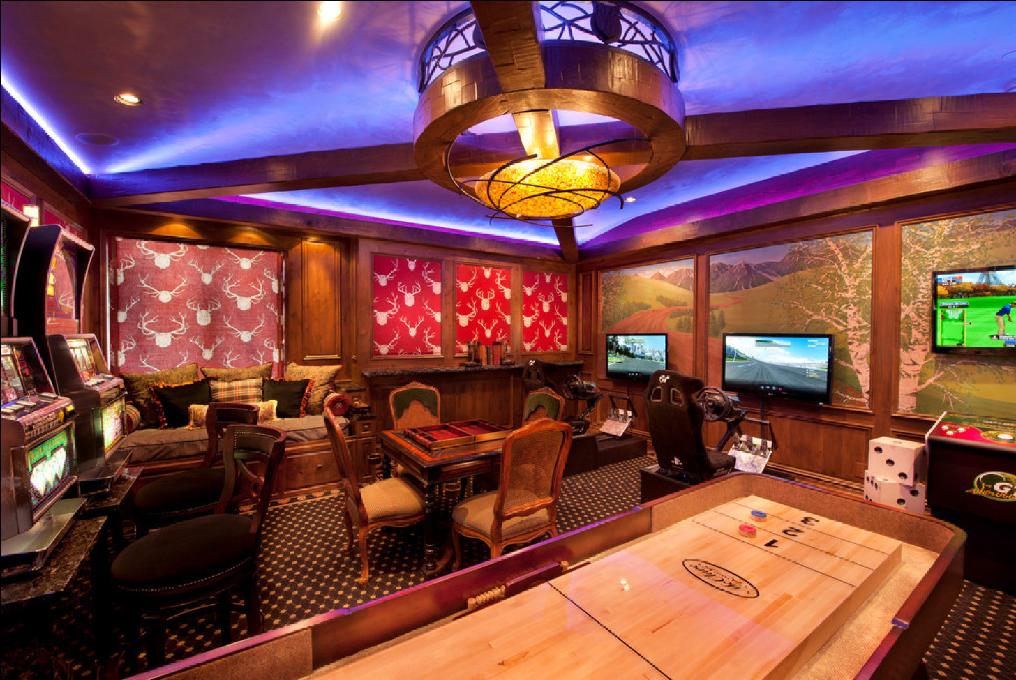 Best ideas about Game Room Accessories . Save or Pin Game And Entertainment Rooms Featuring Witty Design Ideas Now.