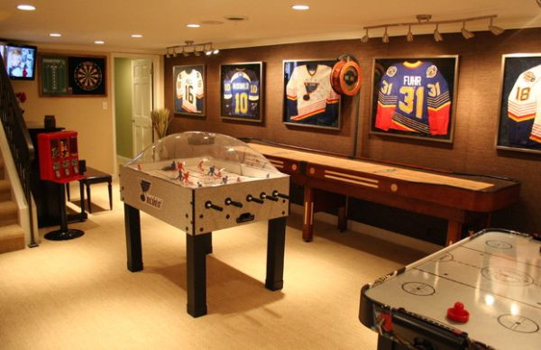 Best ideas about Game Room Accessories . Save or Pin Indulge Your Playful Spirit with These Game Room Ideas Now.