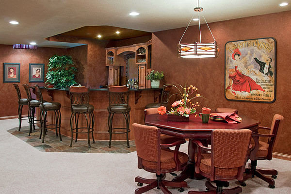 Best ideas about Game Room Accessories . Save or Pin Theater media game room Traditional Home Theater Now.
