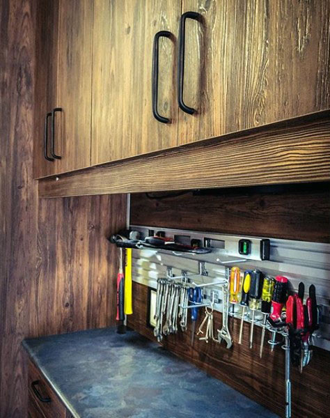 Best ideas about Garage Tool Storage Ideas . Save or Pin 100 Garage Storage Ideas for Men Cool Organization And Now.