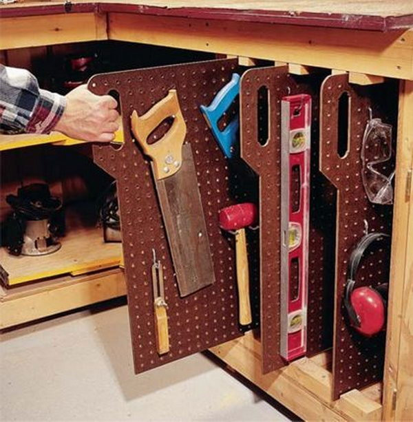 Best ideas about Garage Tool Storage Ideas . Save or Pin Clever Garage Storage and Organization Ideas Hative Now.