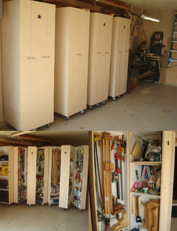 Best ideas about Garage Tool Storage Ideas . Save or Pin DIY Rolling Cabinets for Tool Storage 49 Brilliant Now.