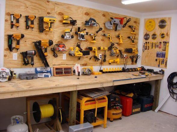 Best ideas about Garage Tool Storage Ideas . Save or Pin garage workshop organization ideas Google Search Now.