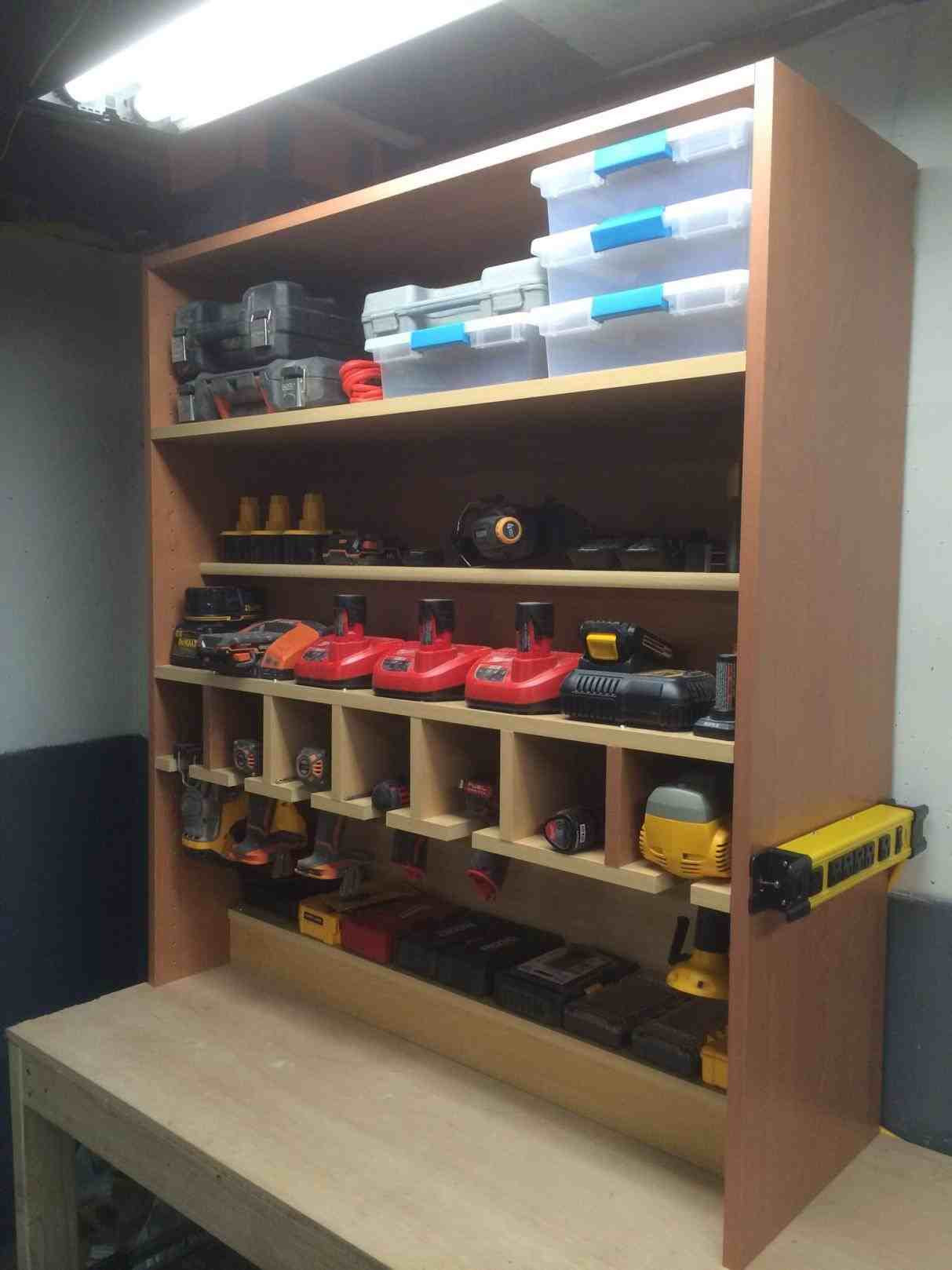 Best ideas about Garage Tool Storage Ideas . Save or Pin Benchtop Tool Storage ARCH DSGN Now.