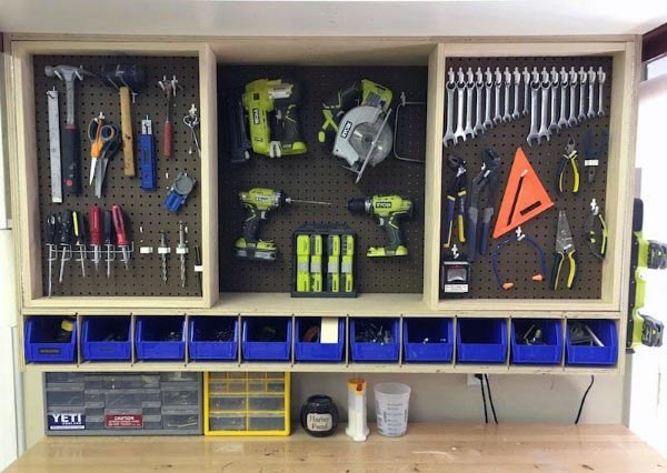 Best ideas about Garage Tool Storage Ideas . Save or Pin Top 80 Best Tool Storage Ideas Organized Garage Designs Now.