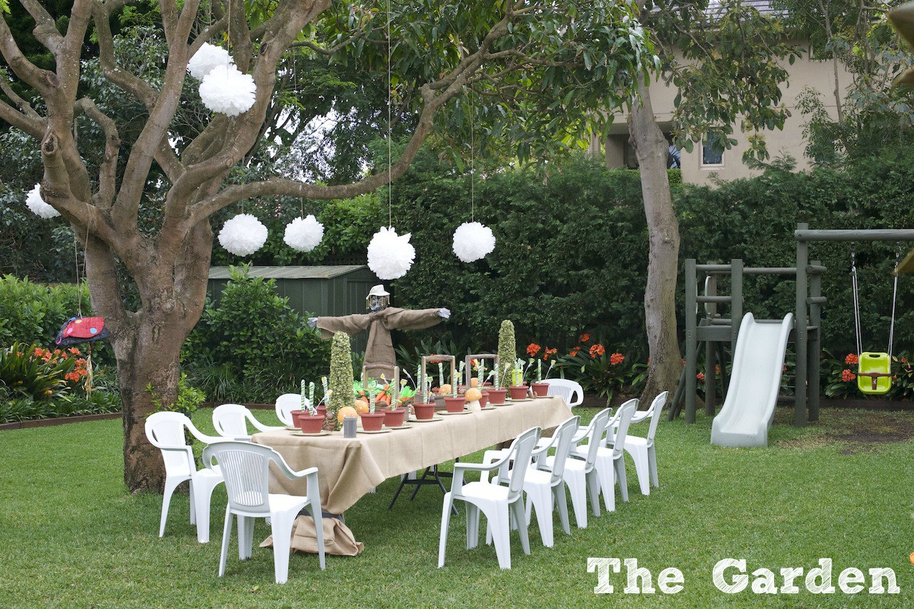 Best ideas about Garden Birthday Party . Save or Pin GARDENING FUN A DOUBLE BIRTHDAY PARTY — phoo Now.