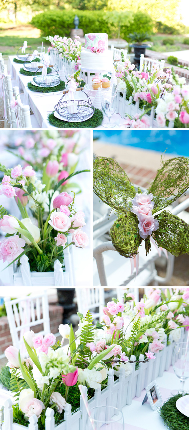Best ideas about Garden Birthday Party . Save or Pin Blakely s Pink & White Garden 1st Birthday Party Now.