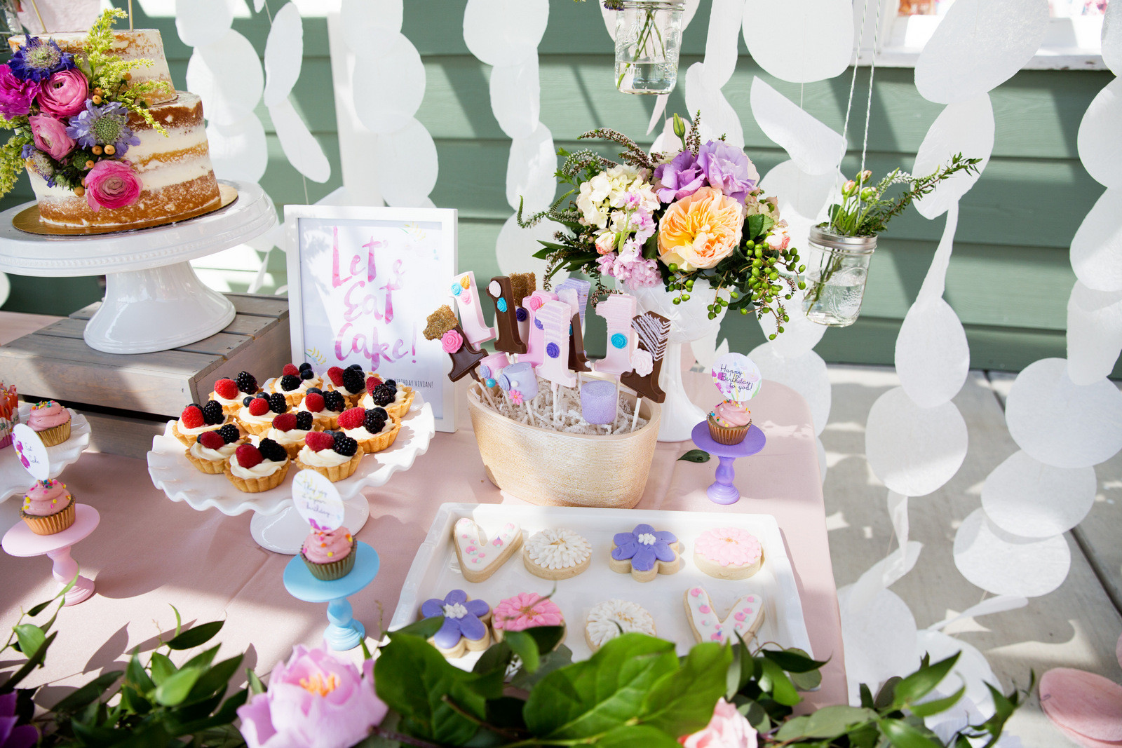 Best ideas about Garden Birthday Party . Save or Pin Vivian s Garden 1st Birthday Party Now.
