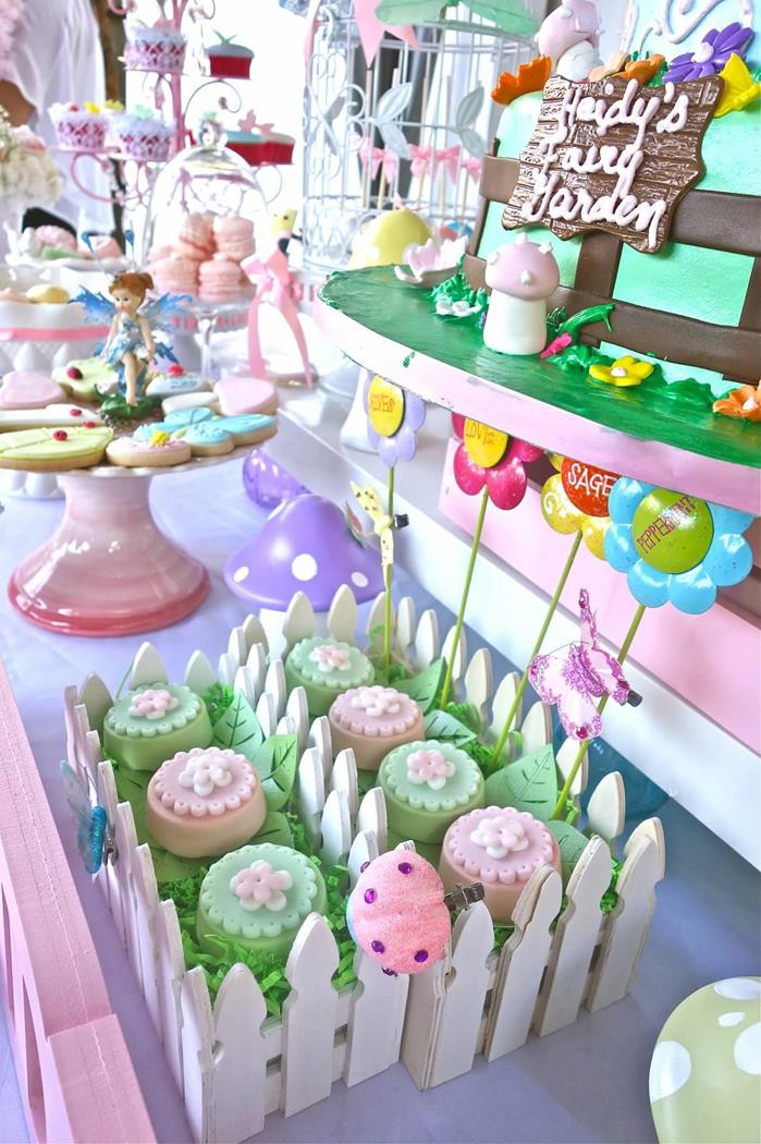 Best ideas about Garden Birthday Party . Save or Pin Kara s Party Ideas Magical Fairy Garden Party Planning Now.