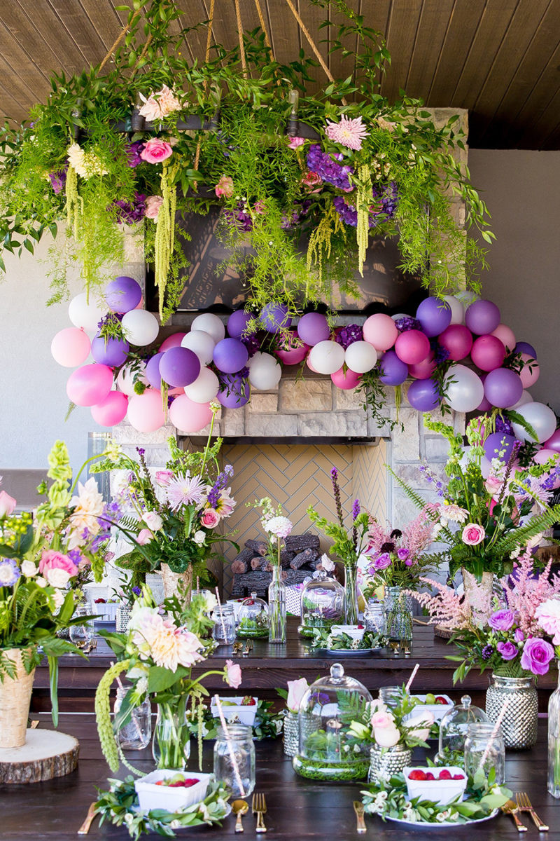 Best ideas about Garden Birthday Party . Save or Pin Fairy Garden Party – Ivory Lane Now.