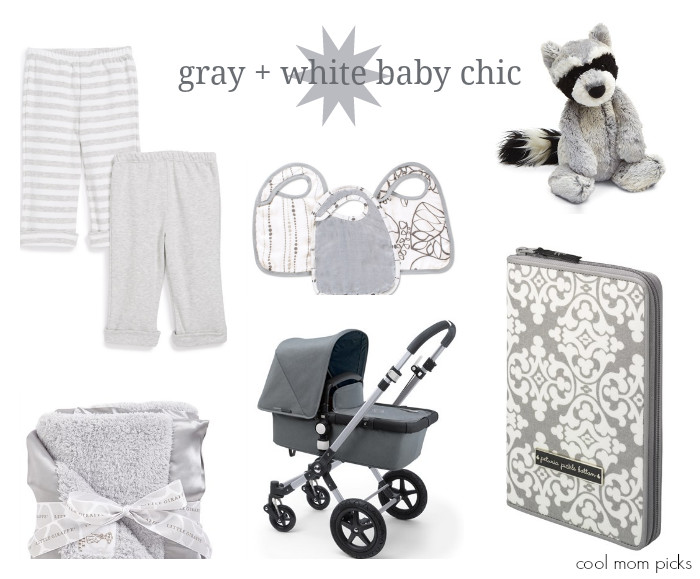 Best ideas about Gender Neutral Baby Gift Ideas . Save or Pin Gray white for baby A chic gender neutral palette Now.