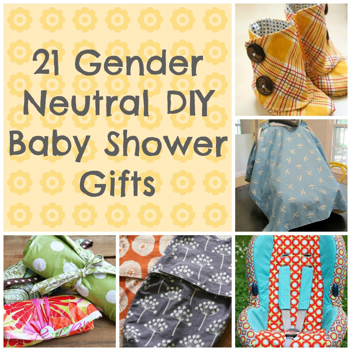 Best ideas about Gender Neutral Baby Gift Ideas . Save or Pin 21 Awesome DIY Baby Shower Gift Ideas That Are Gender Neutral Now.