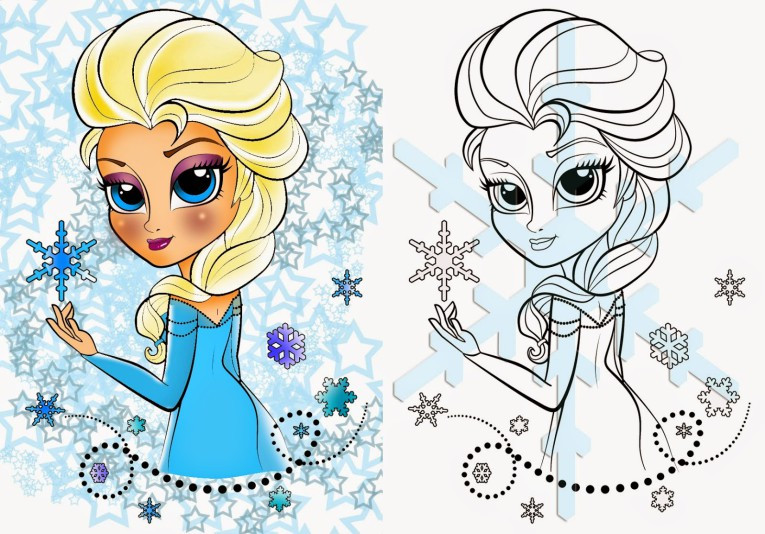 Best ideas about General Coloring Pages For Girls . Save or Pin Coloring Pages For Girls Frozen Elsa Page 2 Elsa Now.