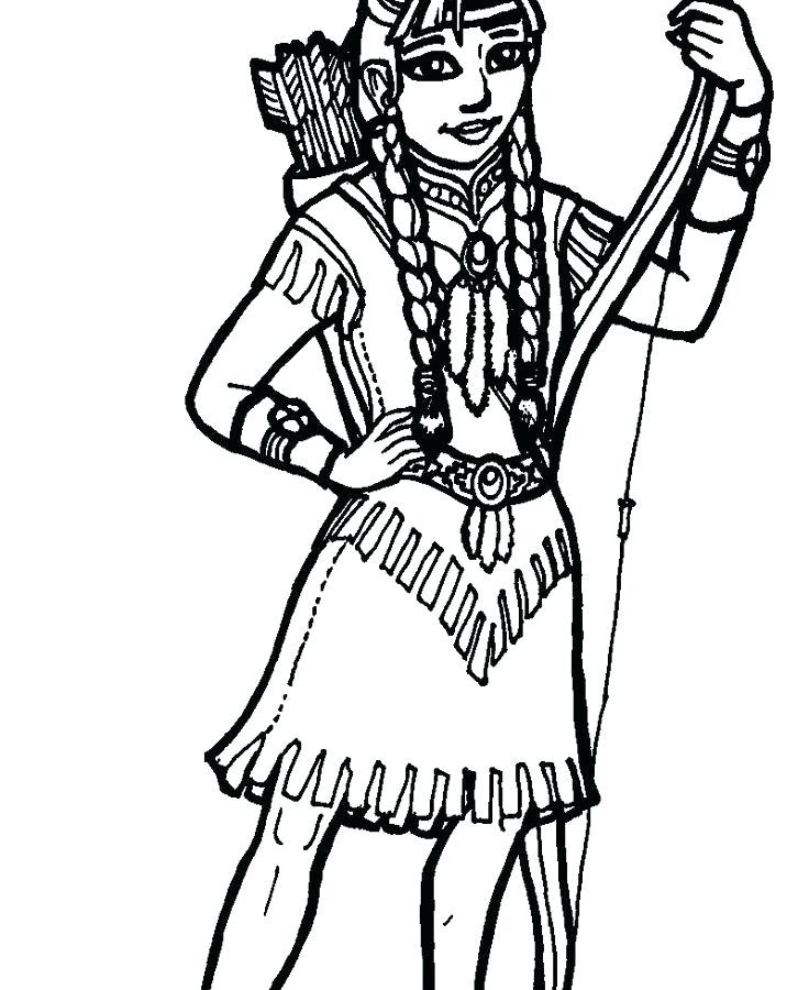 Best ideas about General Coloring Pages For Girls . Save or Pin Indian Boy Coloring Page For Kids Costume Colouring Pages Now.