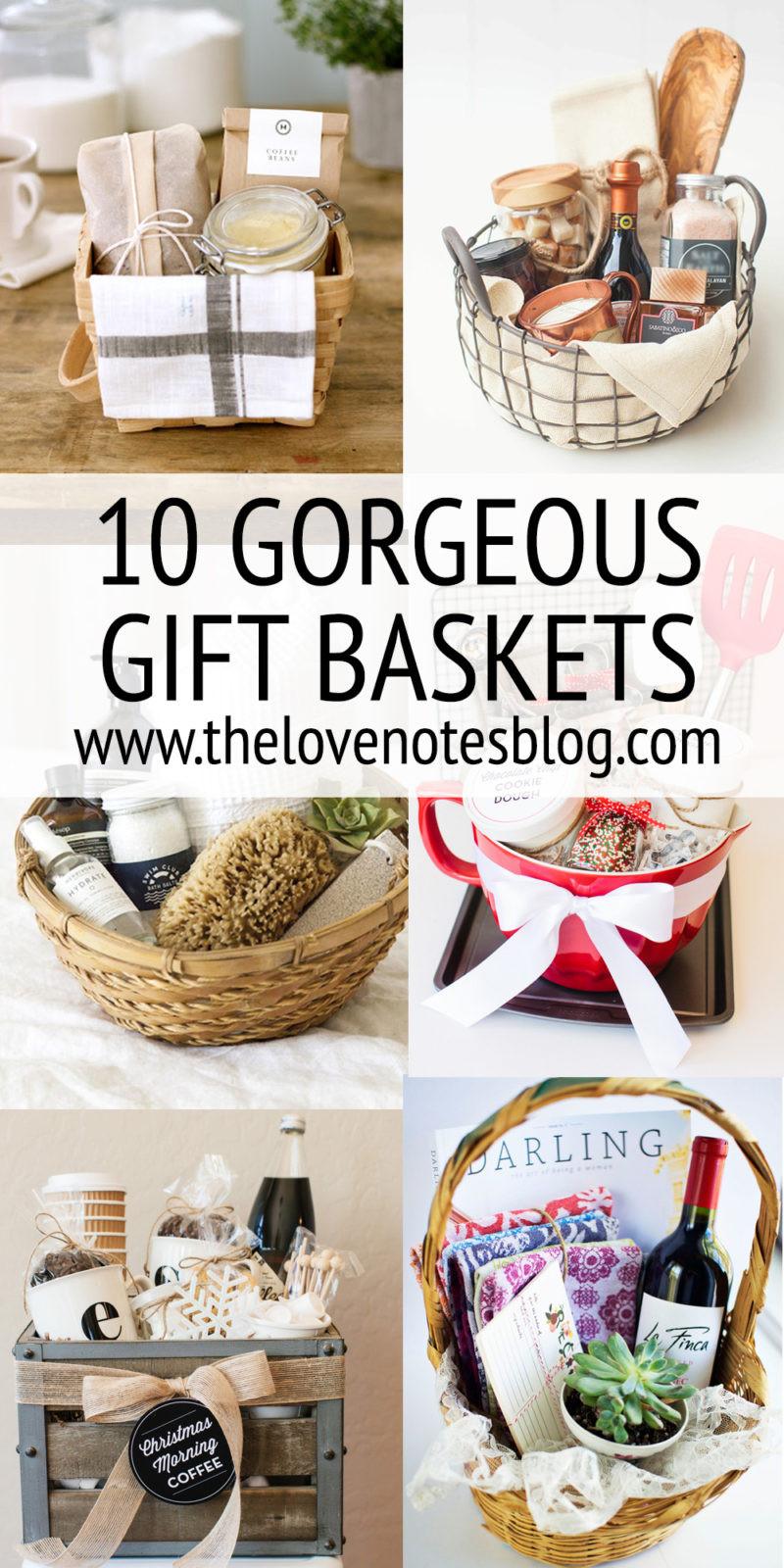 Best ideas about Gift Basket Theme Ideas . Save or Pin GIFT BASKET IDEAS The Love Notes Blog Now.