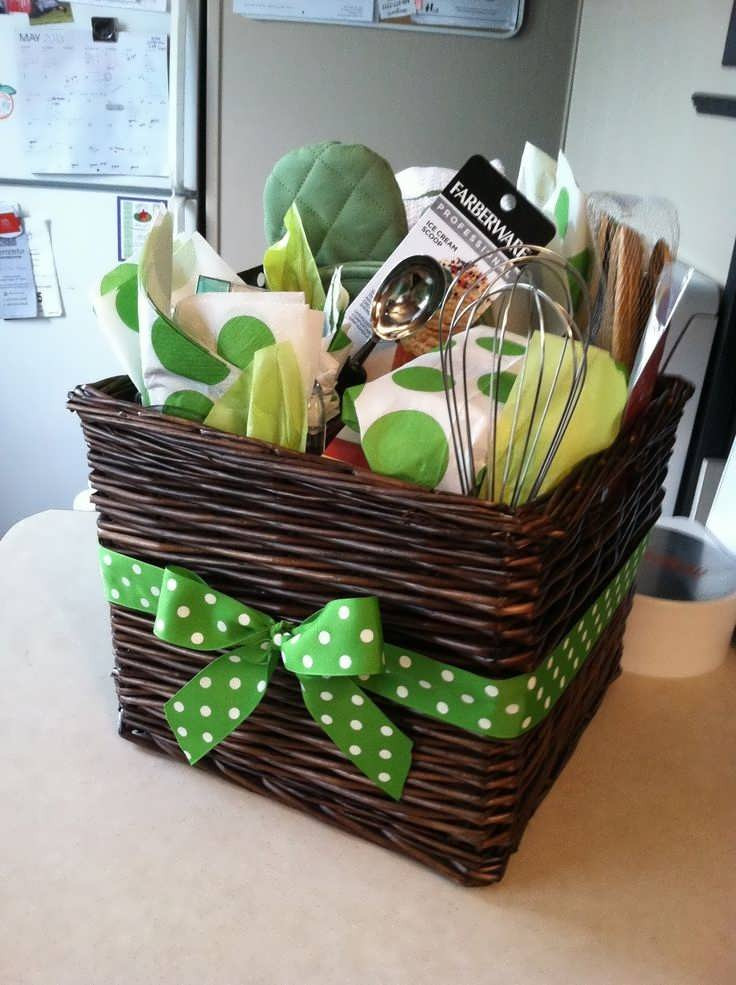 Best ideas about Gift Basket Theme Ideas . Save or Pin Best Bridal Shower Gift Basket Ideas Now.