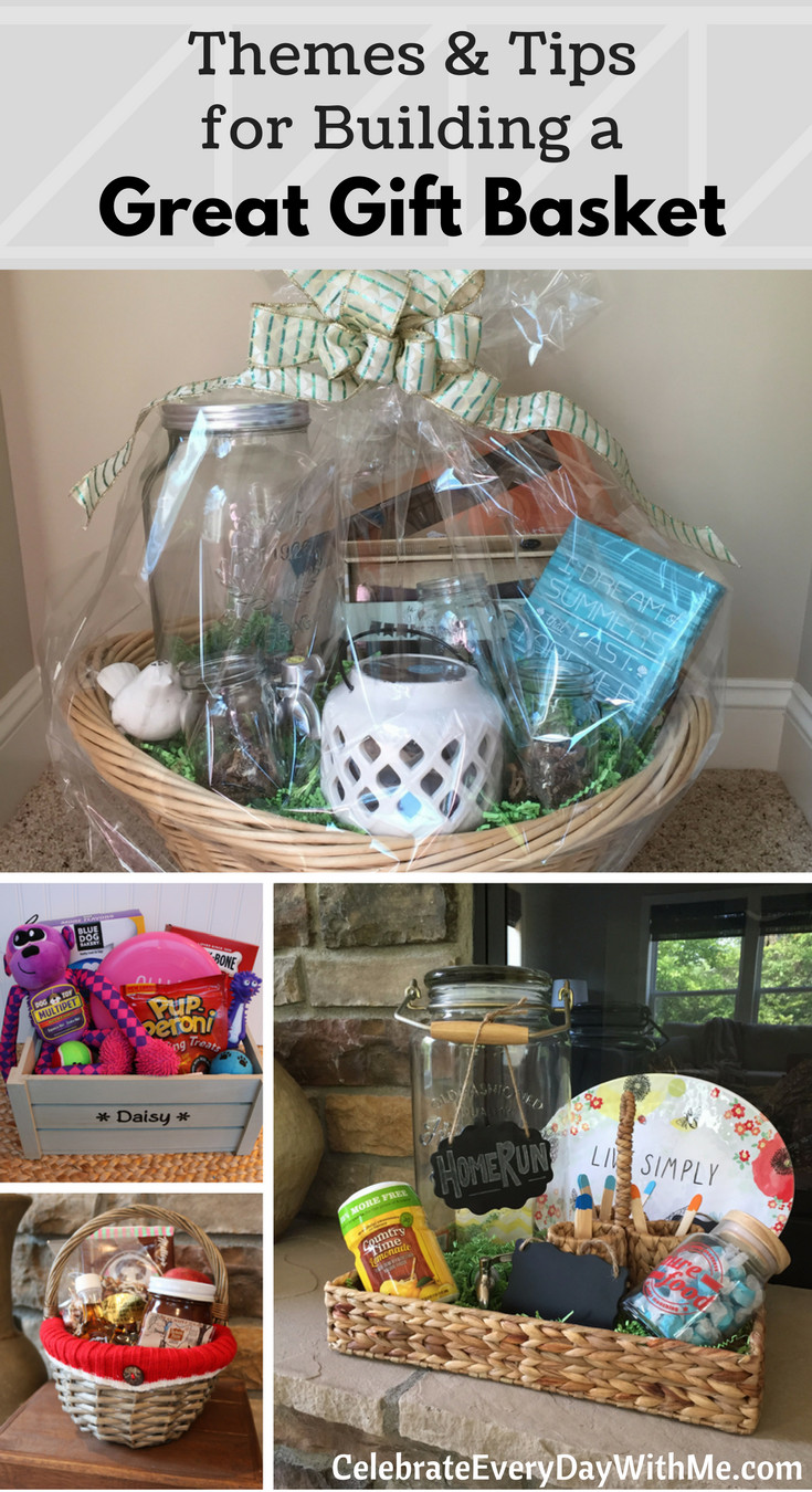 Best ideas about Gift Basket Theme Ideas . Save or Pin HOW TO Themes & Tips for Building a Great Gift Basket Now.