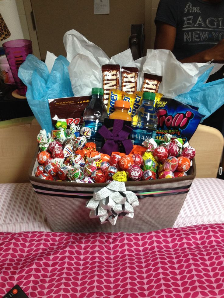 Best ideas about Gift Baskets Ideas For Boyfriend . Save or Pin Gift basket for boyfriend Gift Ideas Pinterest Now.