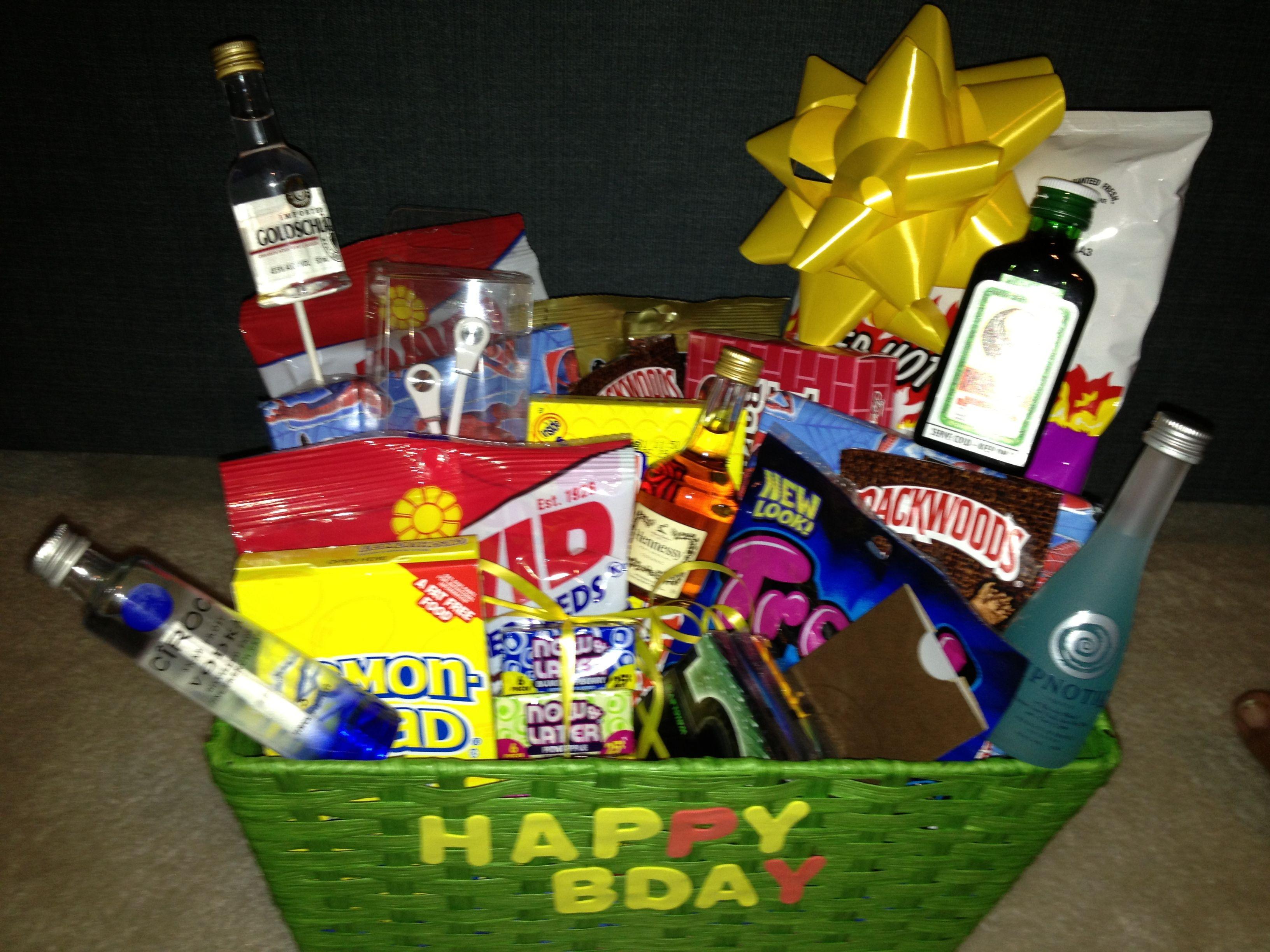 Best ideas about Gift Baskets Ideas For Boyfriend . Save or Pin Boyfriend birthday t basket t ideas Now.
