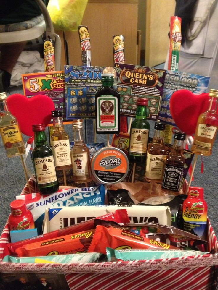 Best ideas about Gift Baskets Ideas For Boyfriend . Save or Pin 20 Valentines Day Ideas for him Now.
