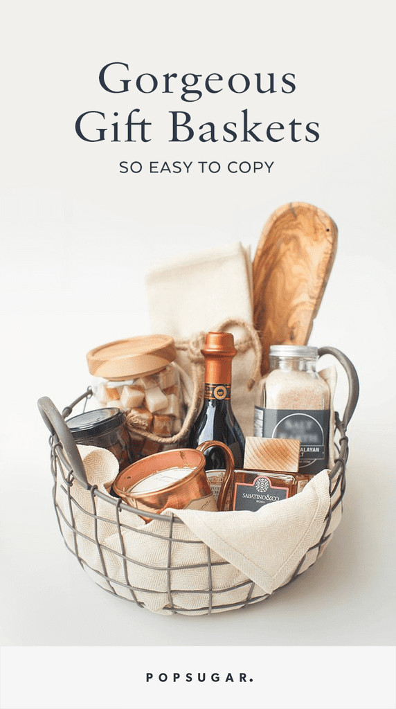 Best ideas about Gift Baskets Ideas . Save or Pin Gift Basket Ideas Now.