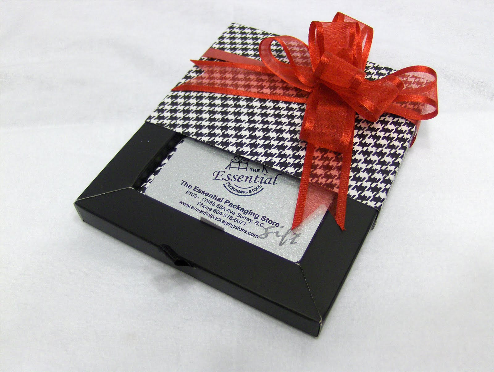 Best ideas about Gift Card Wrapping Ideas . Save or Pin The Essential Packaging Store Blog Holiday Wrapping Now.