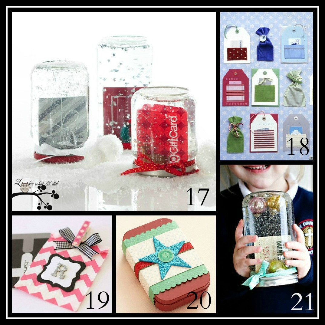 Best ideas about Gift Card Wrapping Ideas . Save or Pin Lookie What I Did Creative Gift Wrapping Ideas and So Now.