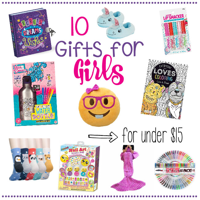 Best ideas about Gift Ideas For 10 Year Old Girls . Save or Pin 10 Gifts for Girls for Under $15 – Fun Squared Now.