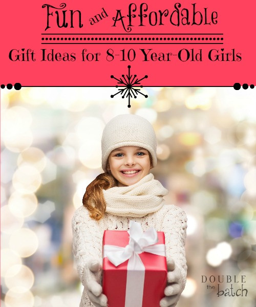 Best ideas about Gift Ideas For 10 Year Old Girls . Save or Pin Fun and Affordable Gift Ideas for 8 10 Year Old Girls Now.