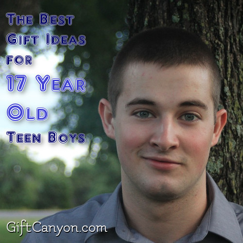 Best ideas about Gift Ideas For 17 Year Old Boys . Save or Pin Gifts for Teenage Boys Gift Canyon Now.