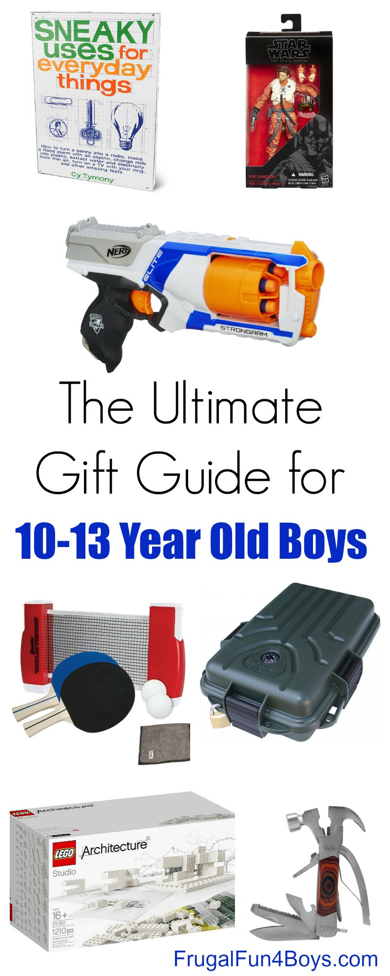 Best ideas about Gift Ideas For 17 Year Old Boys . Save or Pin The Best Gifts for 10 13 Year Old Boys Frugal Fun For Now.