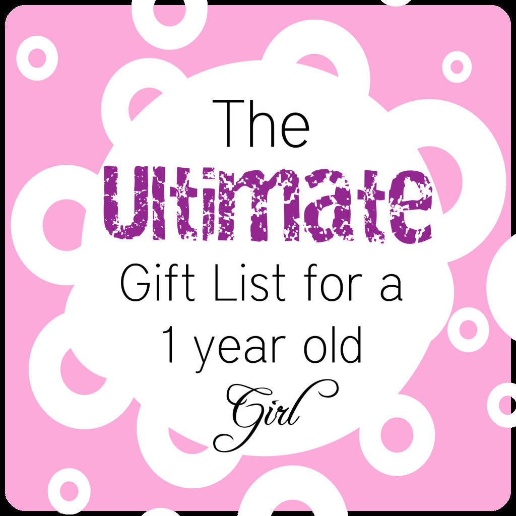 Best ideas about Gift Ideas For 3 Year Old Baby Girl . Save or Pin BEST Gifts for a 1 Year Old Girl • The Pinning Mama Now.
