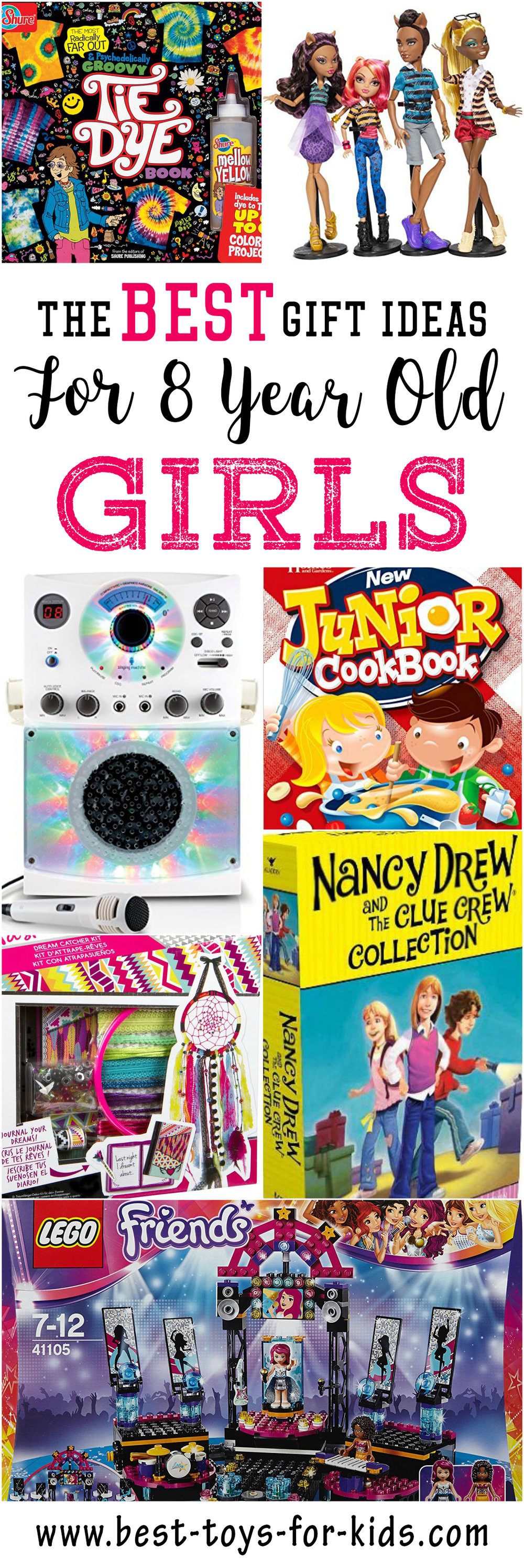 Best ideas about Gift Ideas For 8 Year Old Girls . Save or Pin Best Gift Ideas for 8 Year Old Girls — Best Toys For Kids Now.