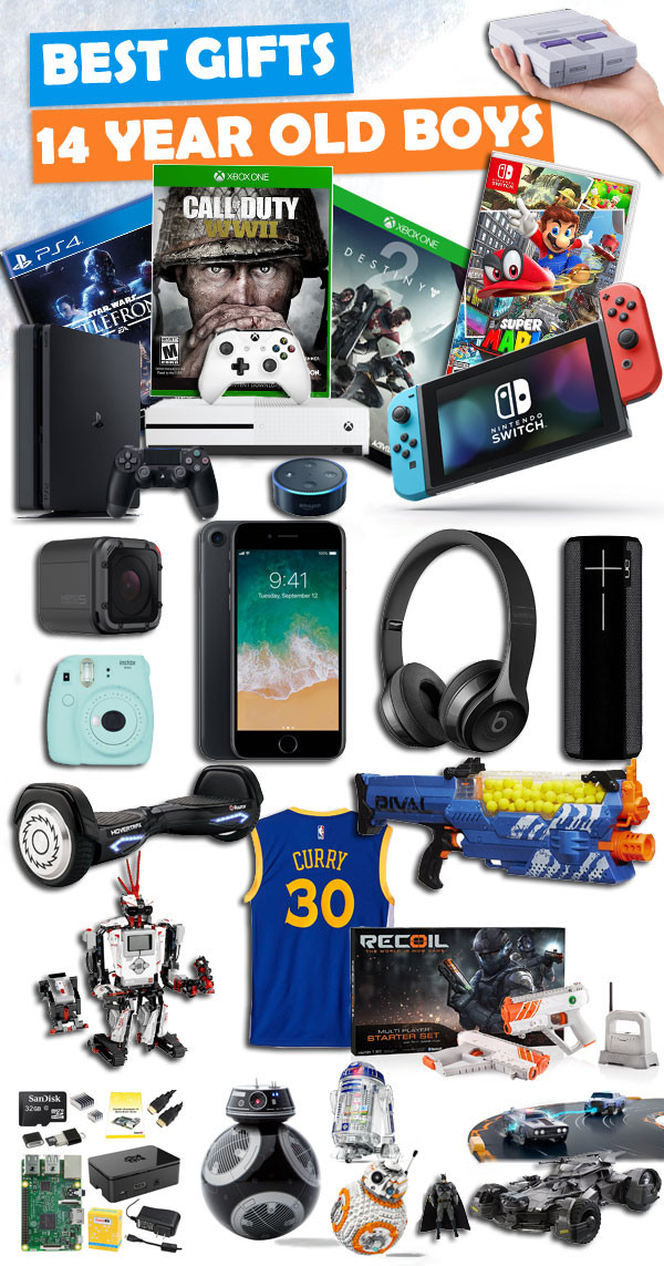Best ideas about Gift Ideas For A 14 Year Old Boy . Save or Pin Gifts For 14 Year Old Boys Now.