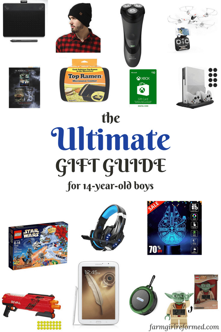 Best ideas about Gift Ideas For A 14 Year Old Boy . Save or Pin The Ultimate Gift Guide for 14 year old Boys Farm Girl Now.
