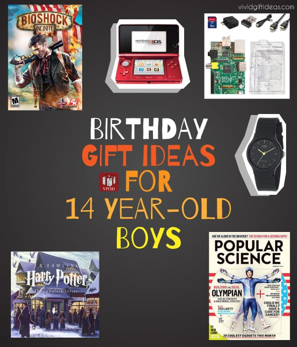 Best ideas about Gift Ideas For A 14 Year Old Boy . Save or Pin Birthday Gift Ideas for 12 13 or 14 Year Old Boy He ll Now.