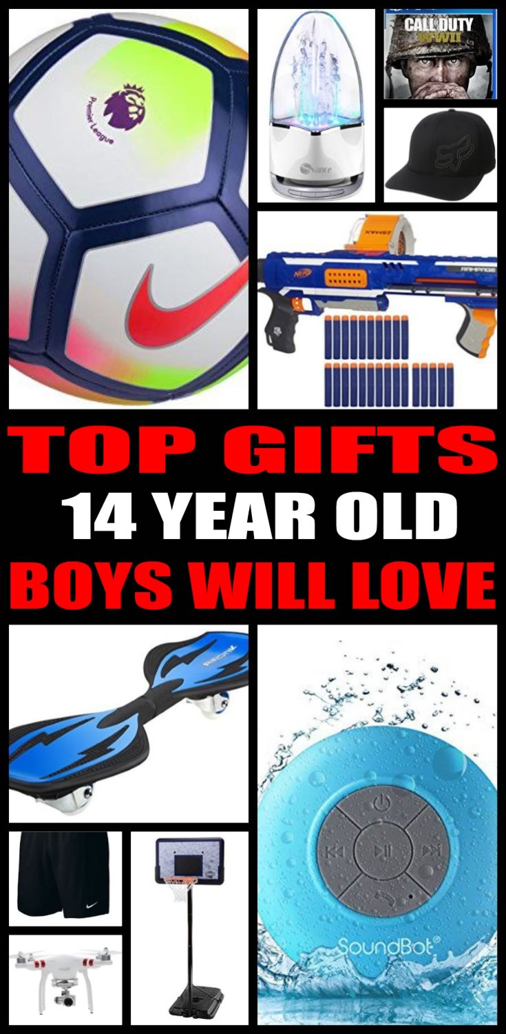 Best ideas about Gift Ideas For A 14 Year Old Boy . Save or Pin Best Gifts 14 Year Old Boys Will Want Now.