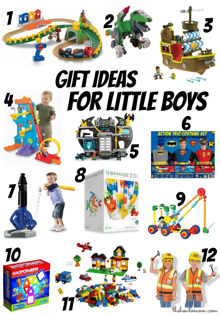 Best ideas about Gift Ideas For Boys Age 6 . Save or Pin Christmas t ideas for little boys ages 3 6 The How Now.