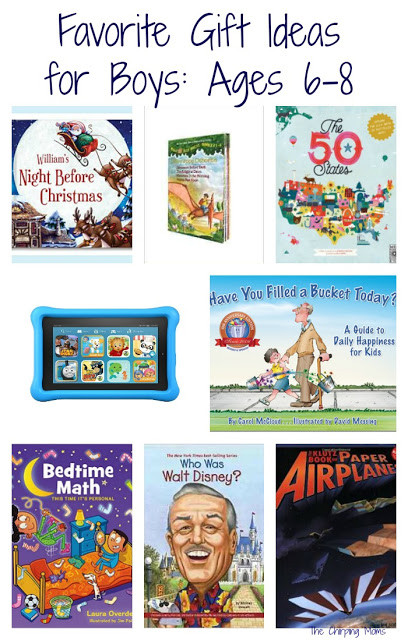 Best ideas about Gift Ideas For Boys Age 6 . Save or Pin 50 Favorite Gift Ideas for Boys Ages 6 8 The Chirping Moms Now.