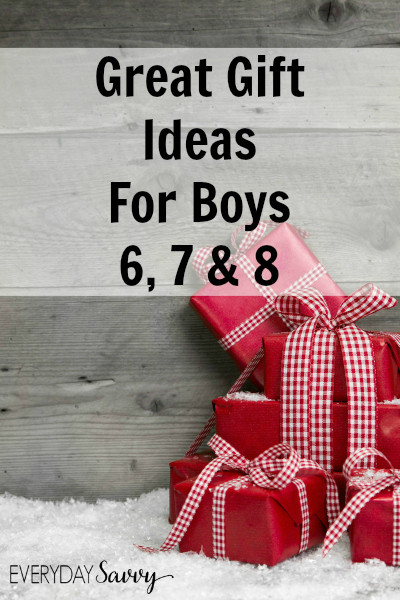 Best ideas about Gift Ideas For Boys Age 6 . Save or Pin Great Gift Ideas for Boys Ages 6 7 8 Now.