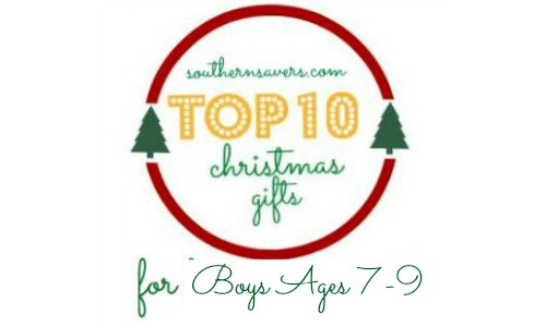 Best ideas about Gift Ideas For Boys Age 9 . Save or Pin Gift Ideas Top Gifts For Boys Ages 7 9 Southern Savers Now.