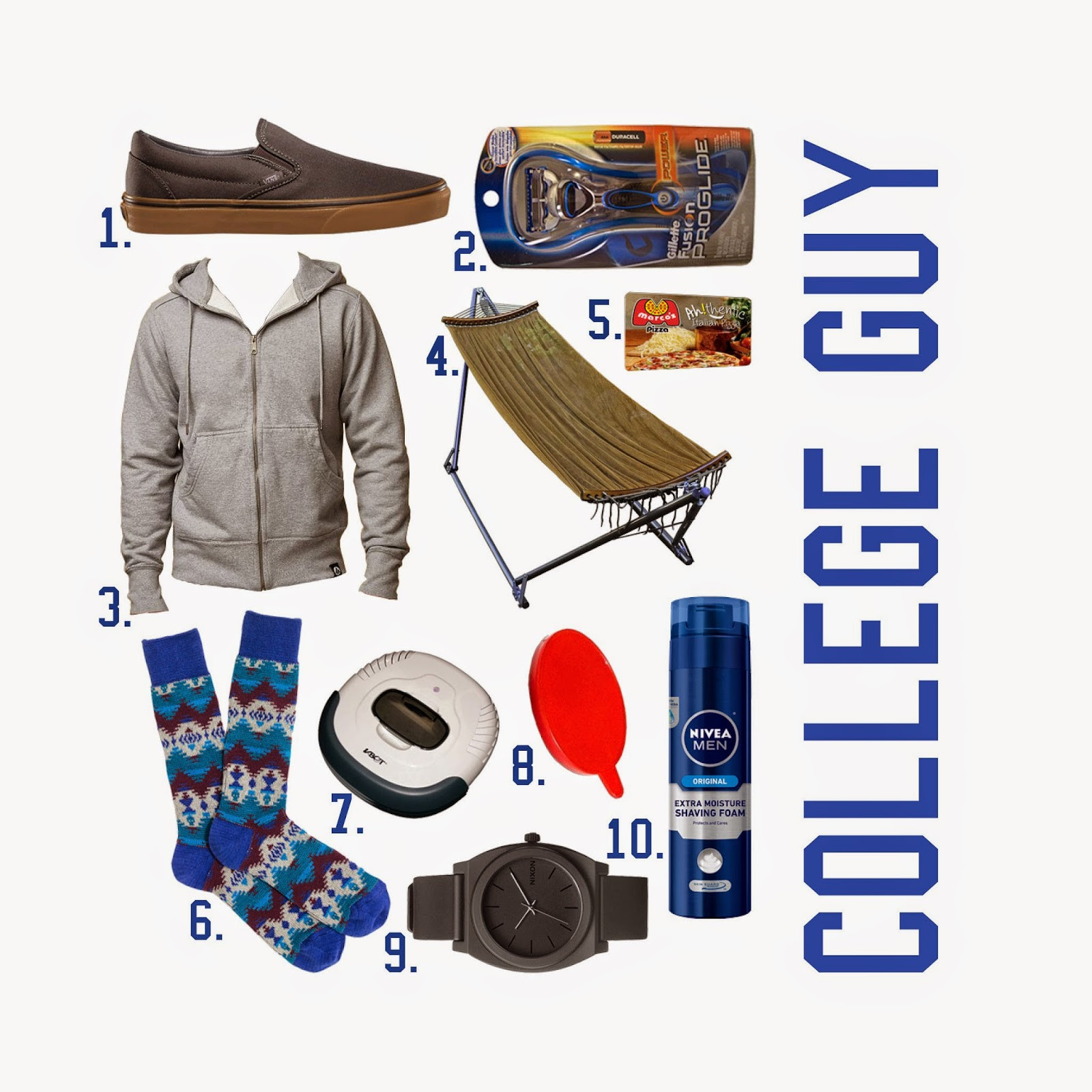 Best ideas about Gift Ideas For College Boys . Save or Pin The Spinsterhood Diaries Gift Guide College Guy Now.