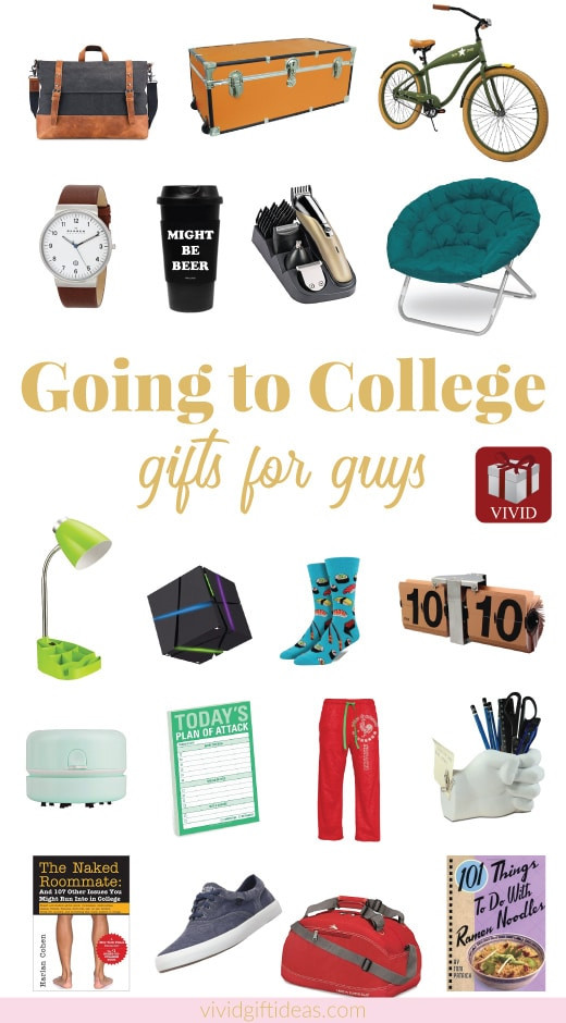 Best ideas about Gift Ideas For College Boys . Save or Pin 25 f to College Gift Ideas for Guys Vivid s Gift Ideas Now.