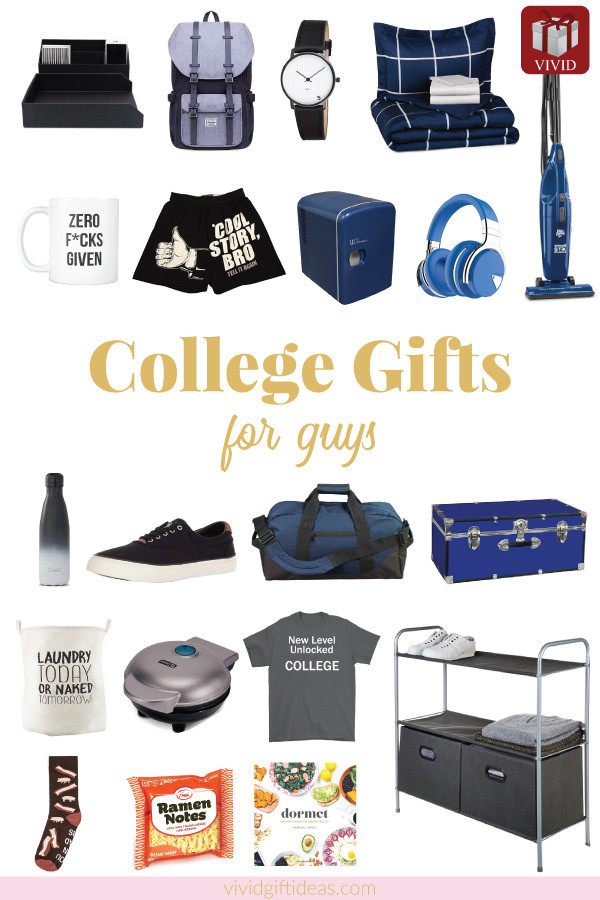 Best ideas about Gift Ideas For College Boys . Save or Pin 20 Gift Ideas for College Freshmen Gift Guide for Guys Now.