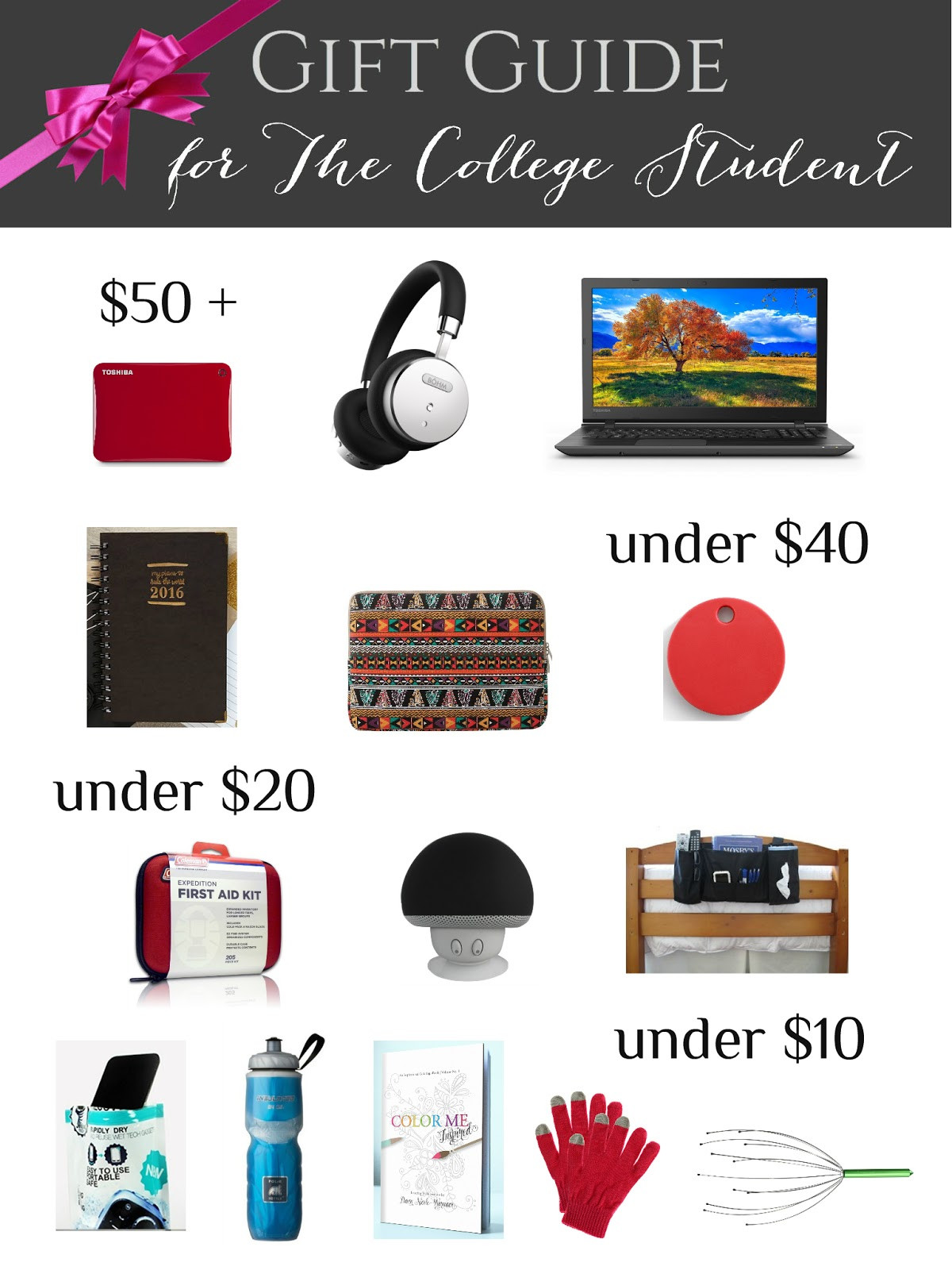 Best ideas about Gift Ideas For College Students . Save or Pin College Student Gift Guide Now.