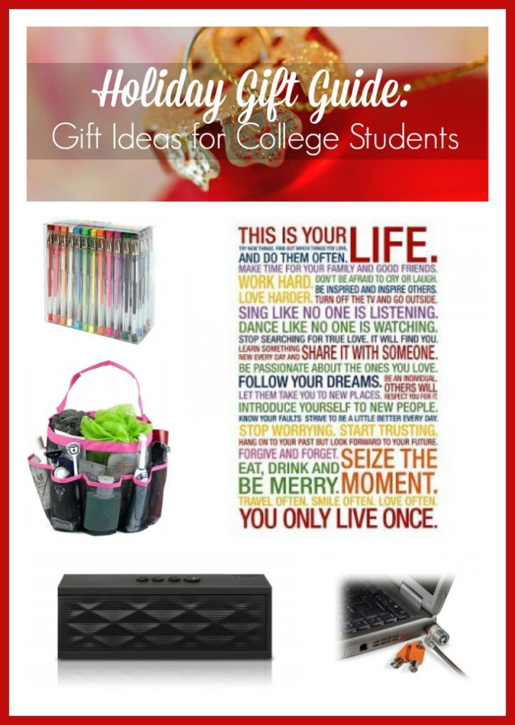 Best ideas about Gift Ideas For College Students . Save or Pin Holiday Gift Guide Gift Ideas for College Students Now.