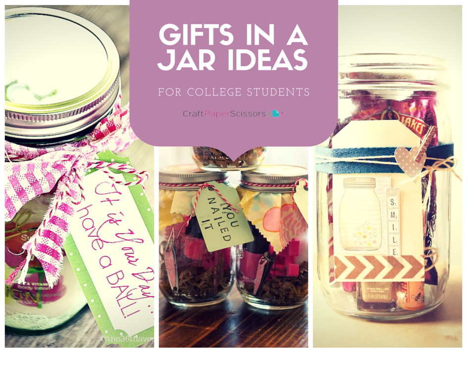 Best ideas about Gift Ideas For College Students . Save or Pin Gifts in a Jar Ideas for College Students Now.